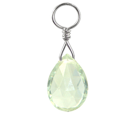 TummyToys® Ocean Green Quartz Swinger Charm